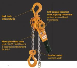 Kito Lb Manual hoist